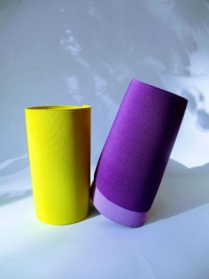 Yellow Fluor and Violet Fashion Elastic Colors for the Summer 2020 season